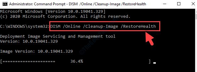 Prompt dei comandi Admin Run Mode Dism Command Enter