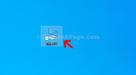 Fare doppio clic su questo PC per aprire Esplora risorse
