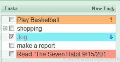 Calendario efficiente