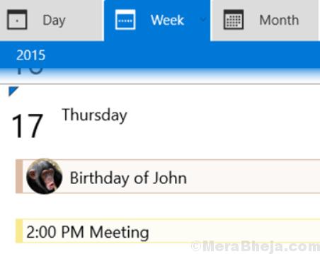 Il mio calendario