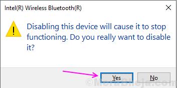 Richiedi Disabilita Bluetooth
