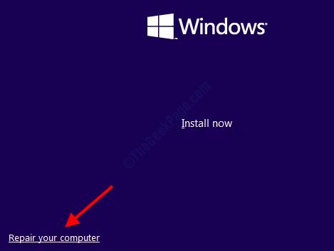 Riparazione di Windows