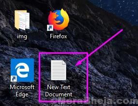 Apri un nuovo documento di testo