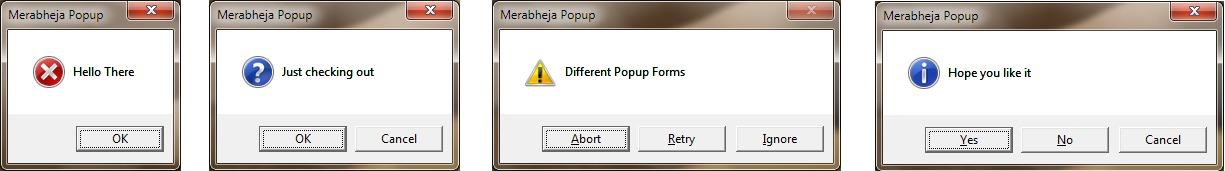 5 pop-up