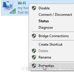 Proprietà Wi-Fi