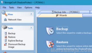 Backup di Storagecraft