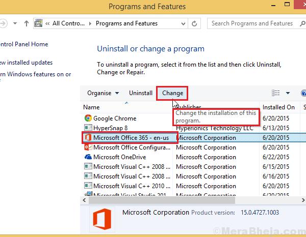 Ripara Microsoft Office