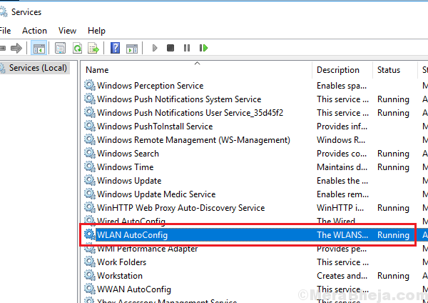 Configurazione Wlan Autoconfig