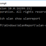 Come generare un report WLAN per diagnosticare i problemi di rete in Windows 10