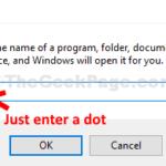 Come spostare la posizione della cartella sul desktop in Windows 10