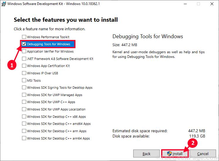 Strumenti di debug per Windows