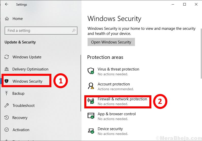 Protezione di Windows