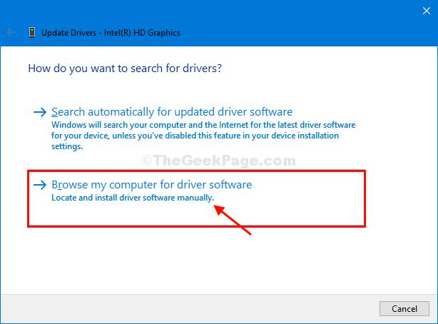 Trova Intel Driver