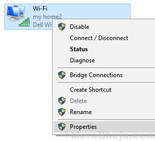 Proprietà dell'adattatore Wifi Min (1)