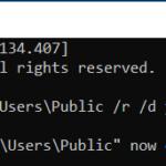 Prendi la proprietà di un file / cartella tramite il prompt dei comandi in Windows 10