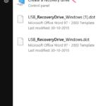Come creare un'unità di ripristino USB in Windows 10 con i passaggi