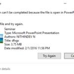 Come eliminare i file (dicendo in uso) in Windows 10