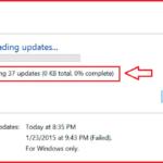 Riparato!  Aggiornamento di Windows bloccato allo 0% su Windows 7/8/10