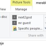 Usa il pulsante Condividi di Windows 10 per condividere file su Facebook