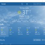 Come configurare l'app meteo di Windows 10