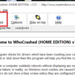 Scopri cosa non funziona sul tuo PC Windows con whocrashed