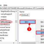 Errore di accesso al servizio client Criteri di gruppo non riuscito in Windows 10