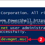 Soluzione: l'amministratore blocca Gestione dispositivi in Windows 10