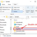 La cartella Appdata è mancante in Windows 10 (risolto)