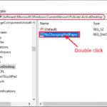 Impossibile modificare il problema dello sfondo del desktop in Windows 10
