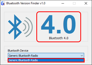 Trova versione Bluetooth