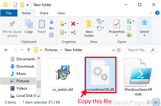 Copia file Vcrutime