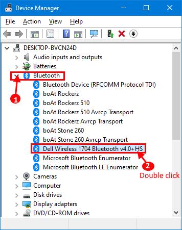 Supporta Bluetooth