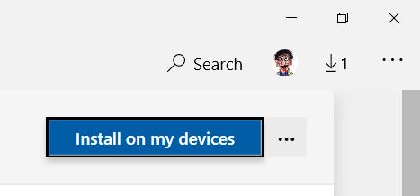 Installa sul mio dispositivo