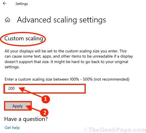 Modifica scala scala