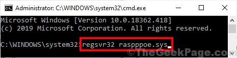 Registro Raspppoe